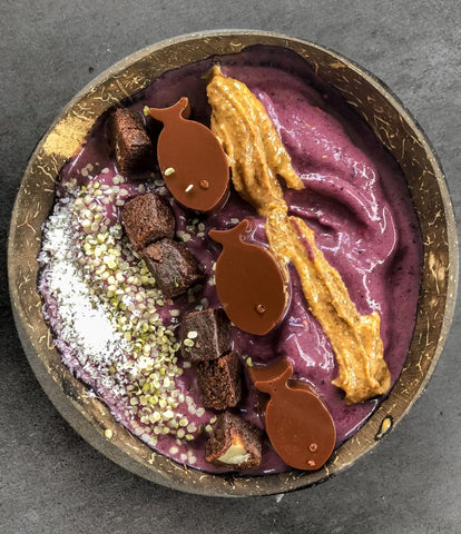 Low Carb ACAI SMOOTHIE BOWL