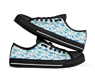 Adult Low Tops Dinosaur Shoes