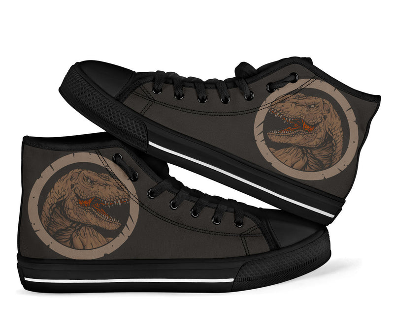 Kids Dinosaur High Tops