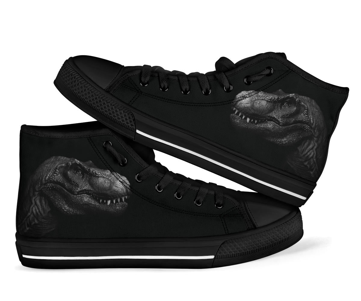 Shadow T-Rex - Dinosaur High Tops