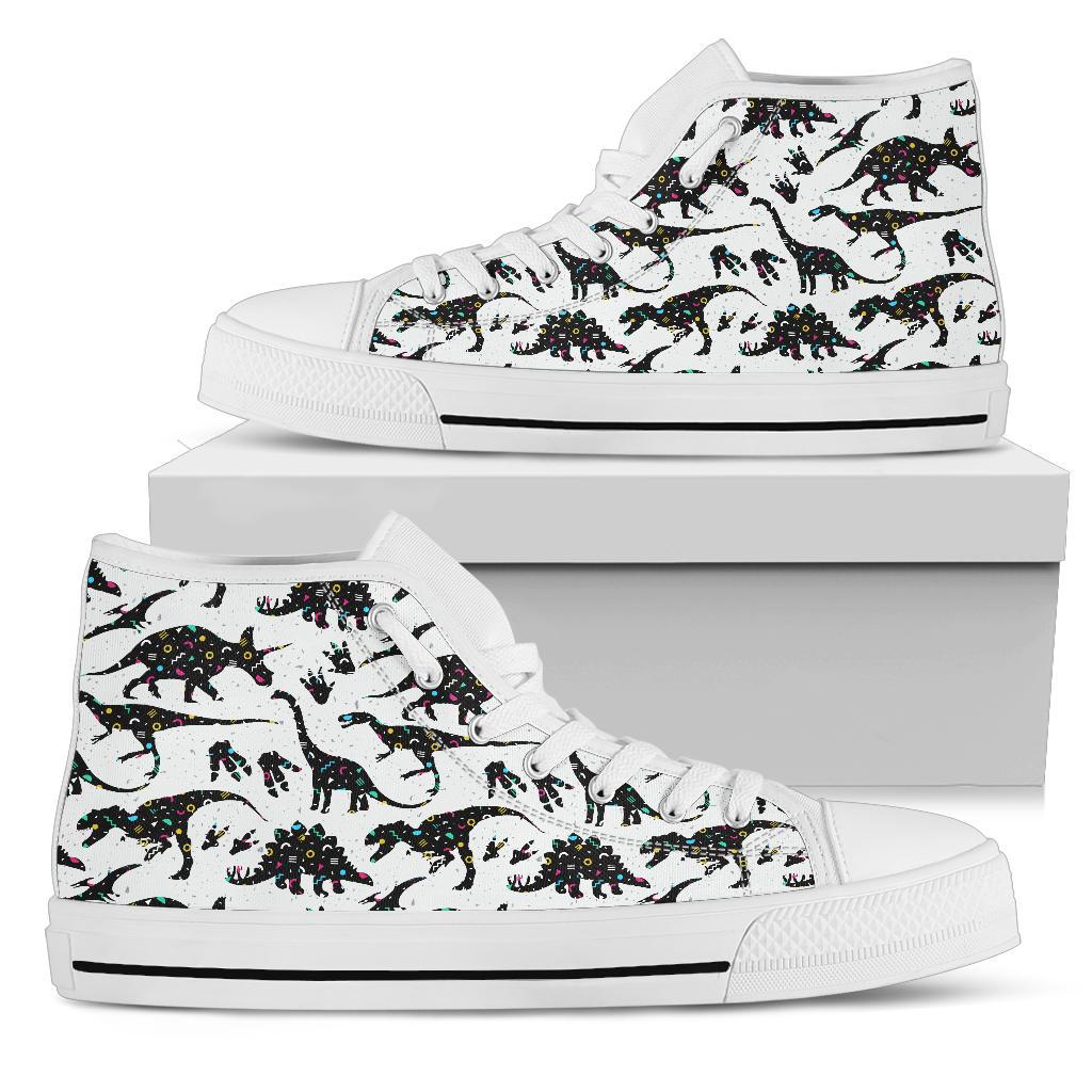 Crazy 90's - High Top Dinosaur Shoes