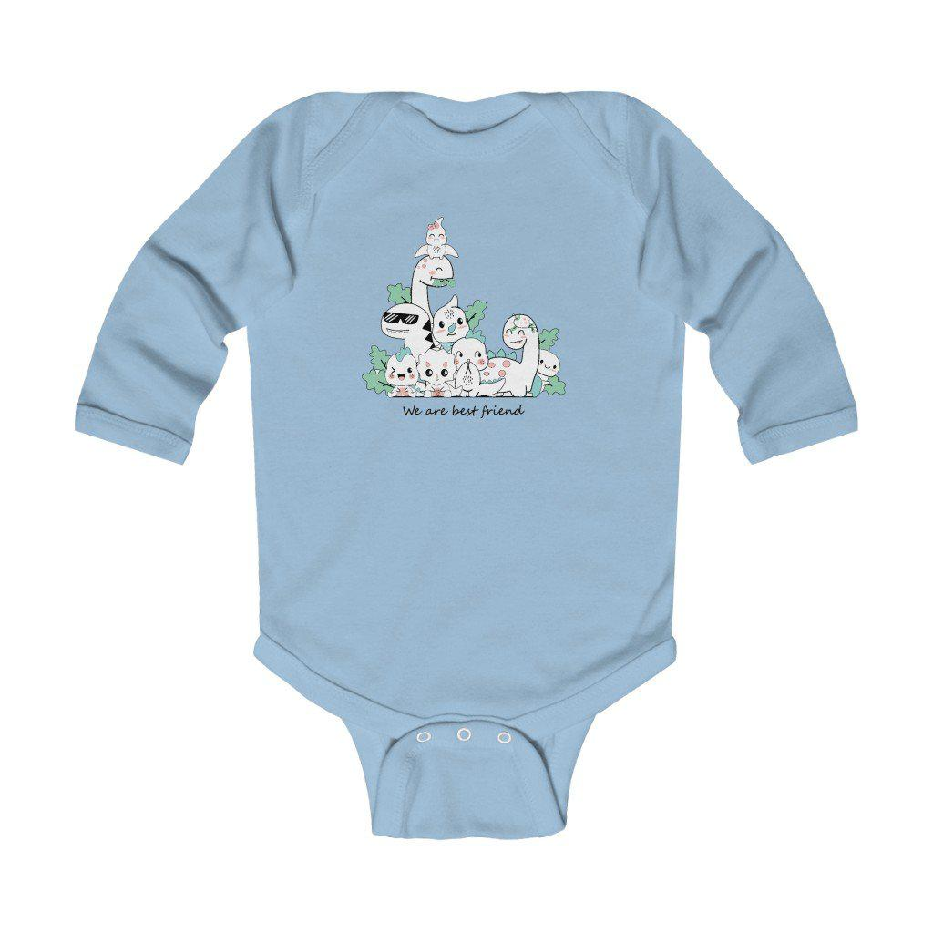 Best Friends - Baby Dinosaur Bodysuit