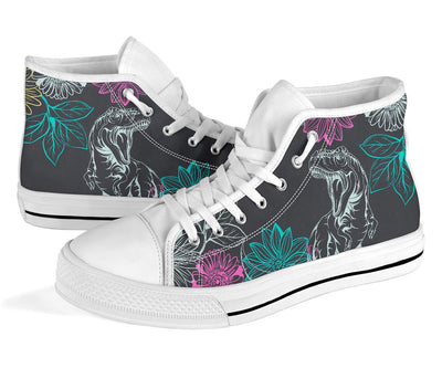 Dinosaur Converse High Tops