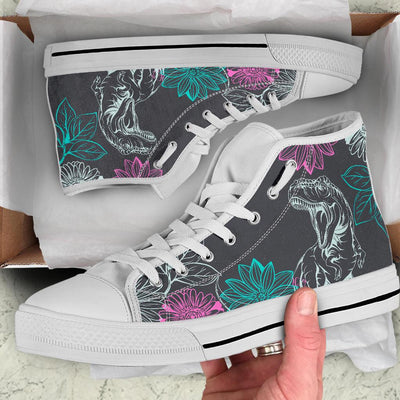 Dinosaur High Tops For Women