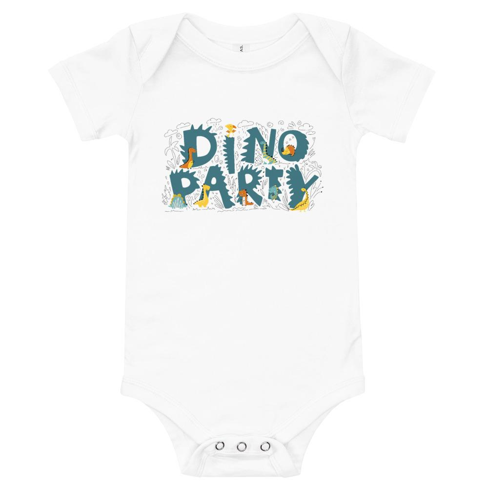 Dinosaur Baby Bodysuit - Dino Party