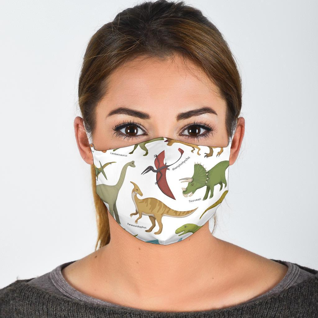 Dinosaur Diagram - Dinosaur Mask