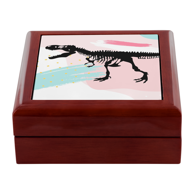 Dinosaur Jewelry Box