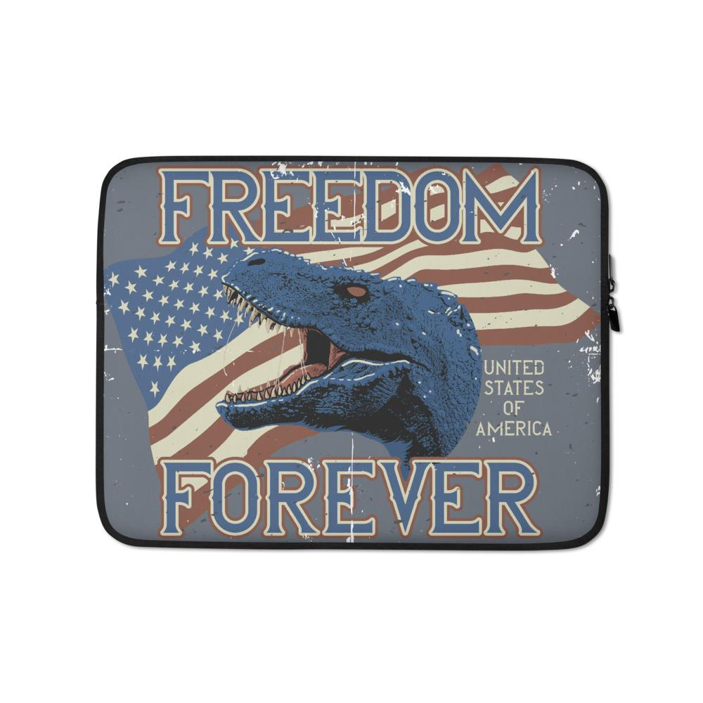 Dinosaur Laptop Bag - Freedom Forever