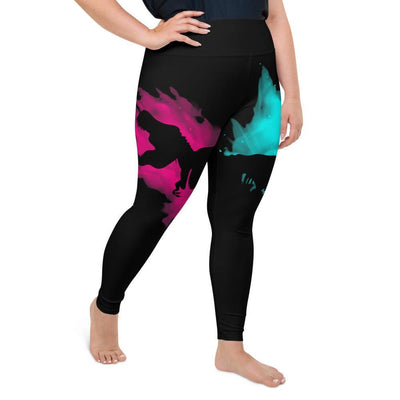 Plus Sized Dinosaur Leggings For Women
