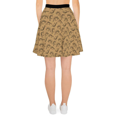 Womens Dinosaur Skirt