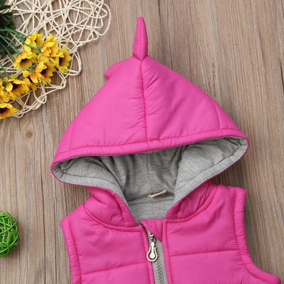 Girls Dinosaur Coat