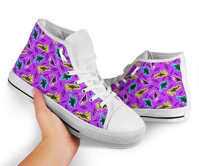 Womens Dinosaur High Tops