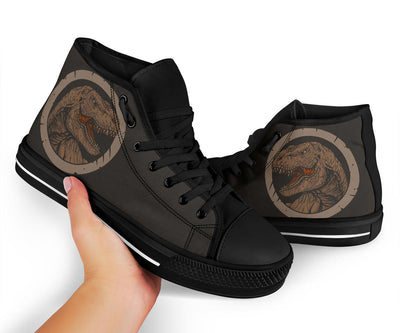 Dinosaur High Tops Mens