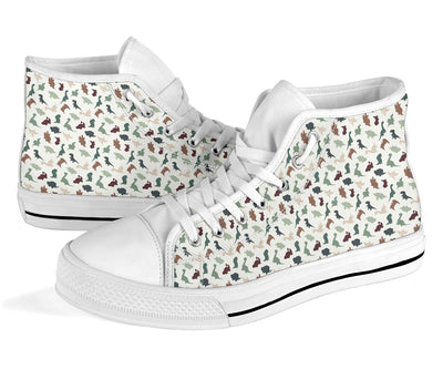 Dinosaur High Top Shoes For Women