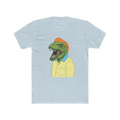 Light Blue Dinosaur Shirt With Hip Dinosaur