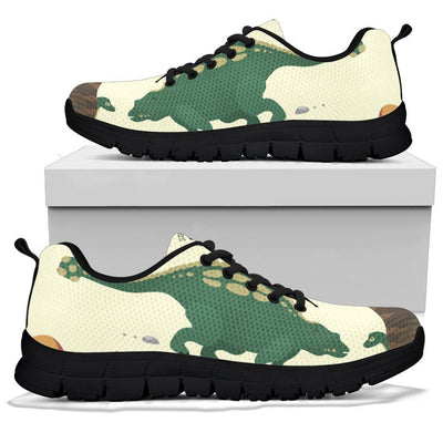 Green Dinosaur Shoes