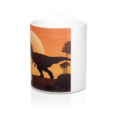 side Of Dinosaur Mug