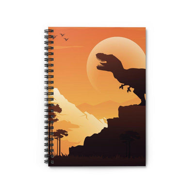 Dinosaur Spiral Notebook