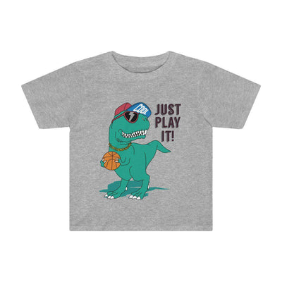 Dinosaur T-Shirt For Toddlers - Grey