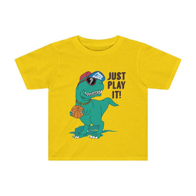 Dinosaur Shirt For Toddlers Yellow