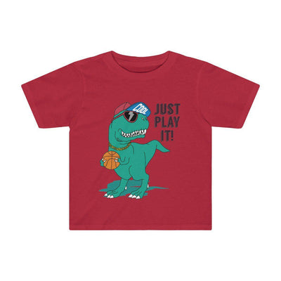 Dinosaur Shirt For Toddlers Red