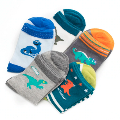 Dinosaur Socks For Kids