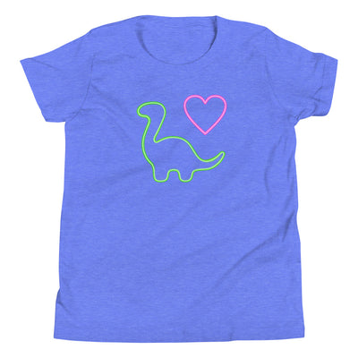 Kids Girls Dinosaur Shirt