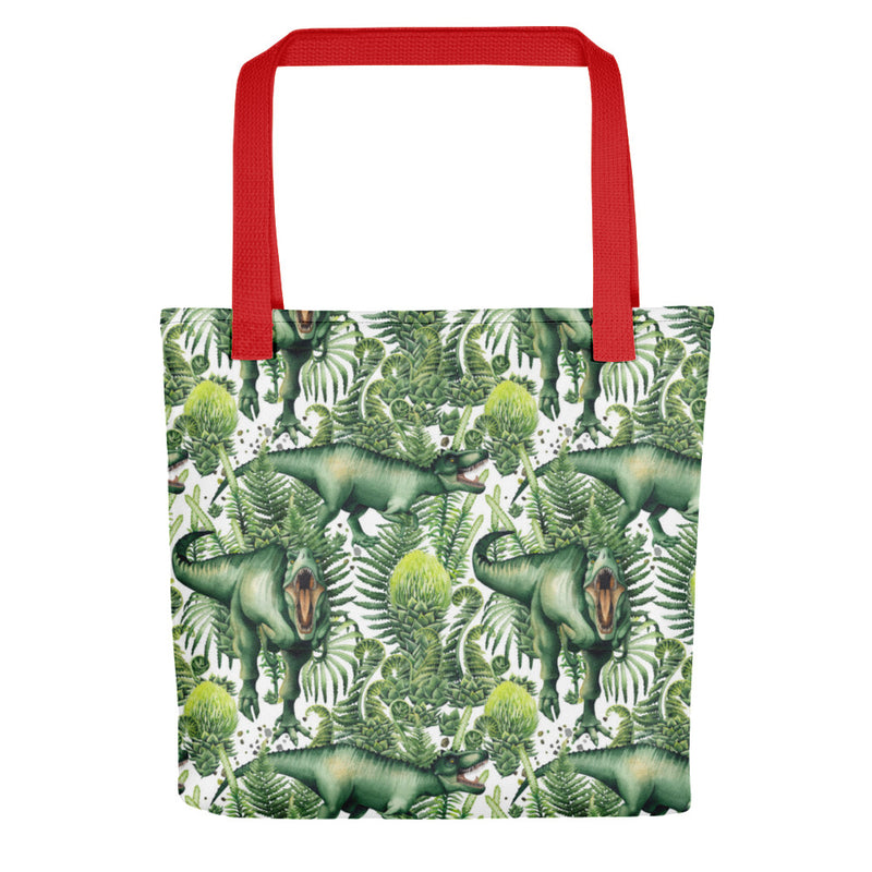 Forest Rex - Dinosaur Tote Bag