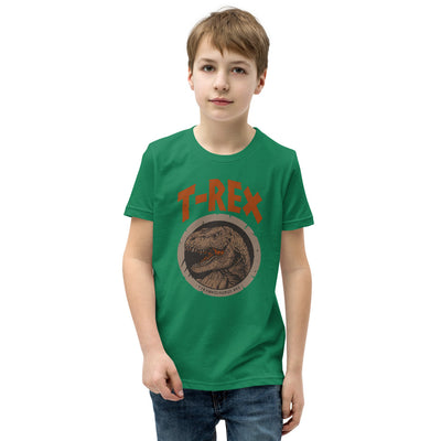 Green Dinosaur Shirt For Kids