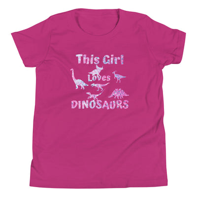 Dinosaur Shirt Girls Kids