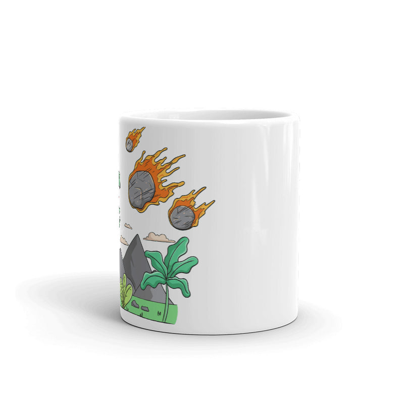 Rock, Paper, Scissors - Dinosaur Mug