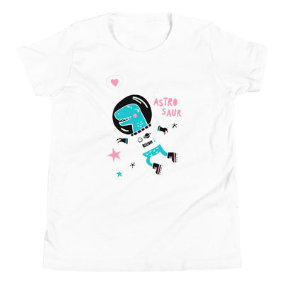 Astrosaur - Girls Dinosaur Shirt