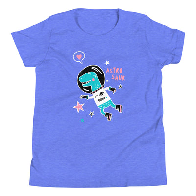 Blue Dinosaur Shirt For Girls