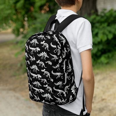 Dinosaur Skeletons - Kids Dinosaur Backpack