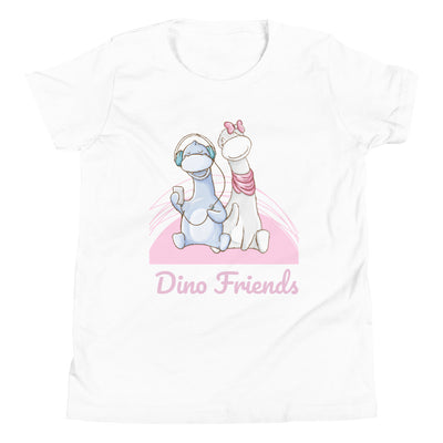 Dino Friends - Girls Dinosaur Shirt