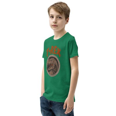 Green Dinosaur Shirt For Boys
