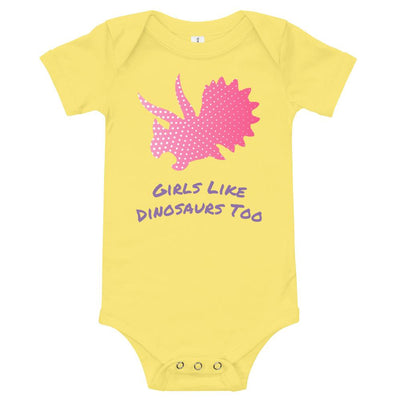 dinosaur baby clothes for girls