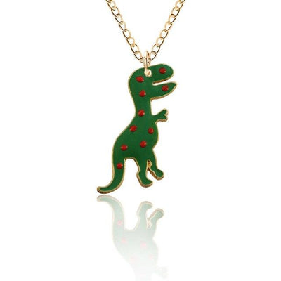 Dinosaur Necklace For Girls