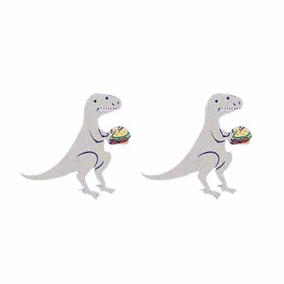 Hungry Dinos - Dinosaur Earrings