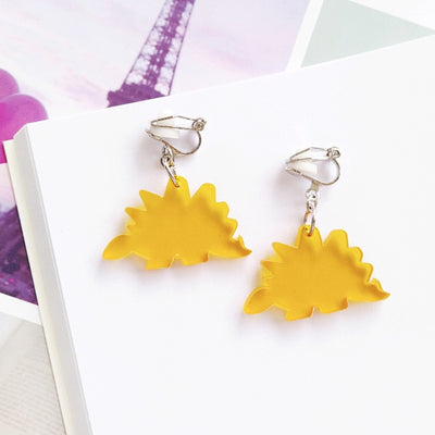 Girls Dinosaur Earrings