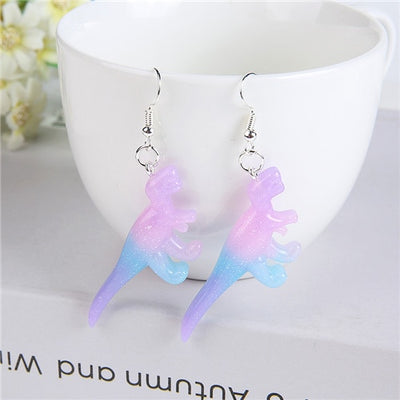 Girls Dinosaur Earring
