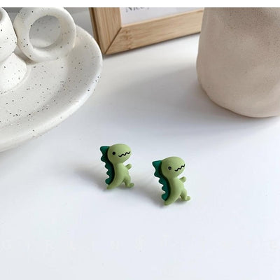 Kids DInosaur Earrings