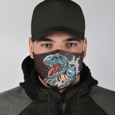 Splashing Rex - Dinosaur Mask