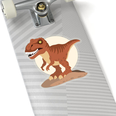 Skateboard Vinyl Dinosaur Sticker