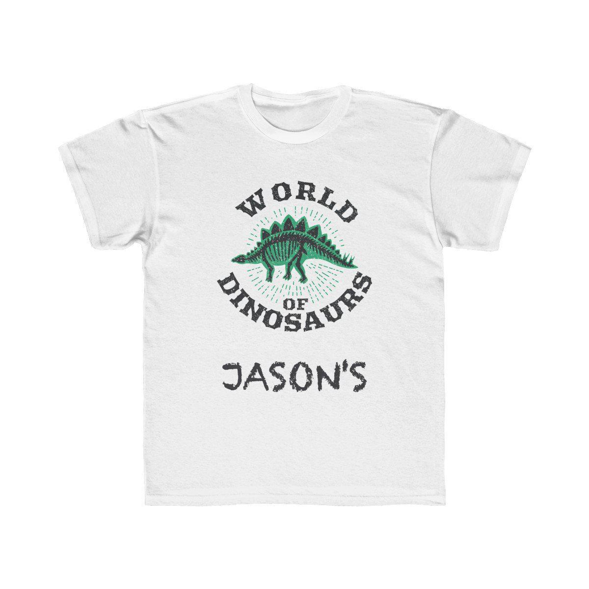 World Of Dinosaurs T-Shirt - Personalized