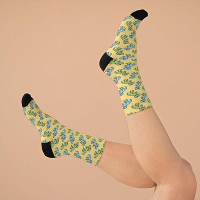 Dinosaur Socks Womens
