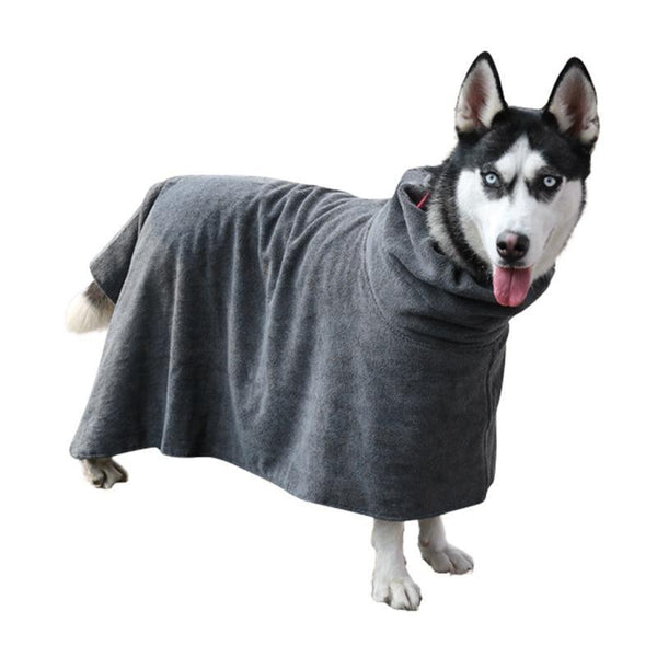Dog Bathrobe Cloak