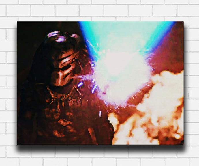 1987 Predator Shoots Back Canvas Sets