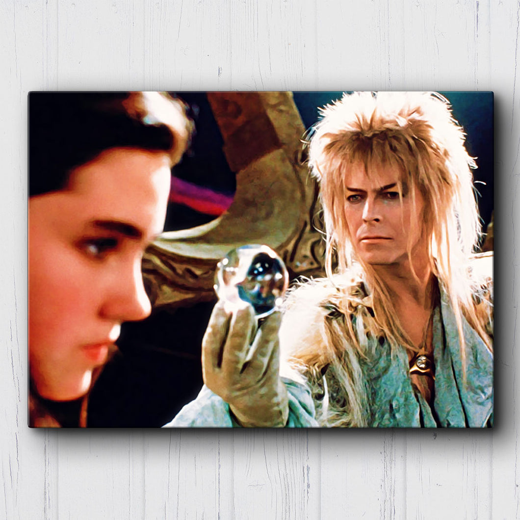 The Labyrinth Goblin King & Sarah Canvas Sets