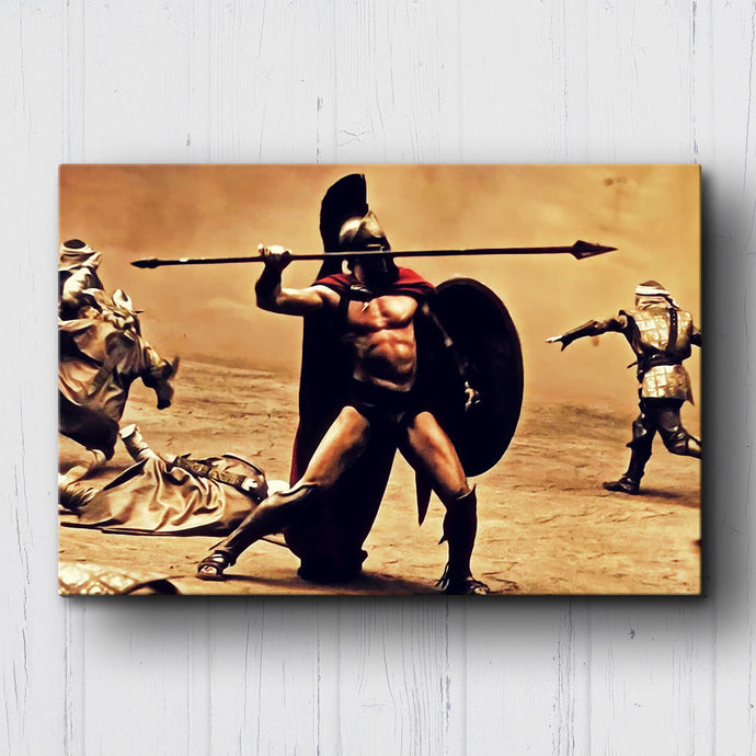 300 Taking Aim Canvas Sets